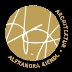 Alexandra Kiendl Architektur Logo Gold